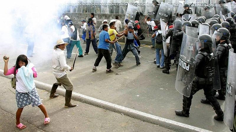 Protestas contra una reforma fiscal