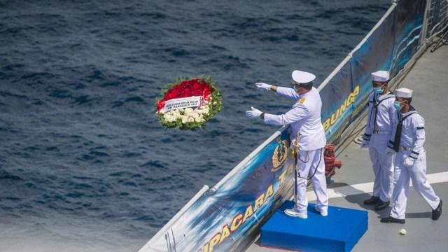 El submarino se hundió el 21 de abril