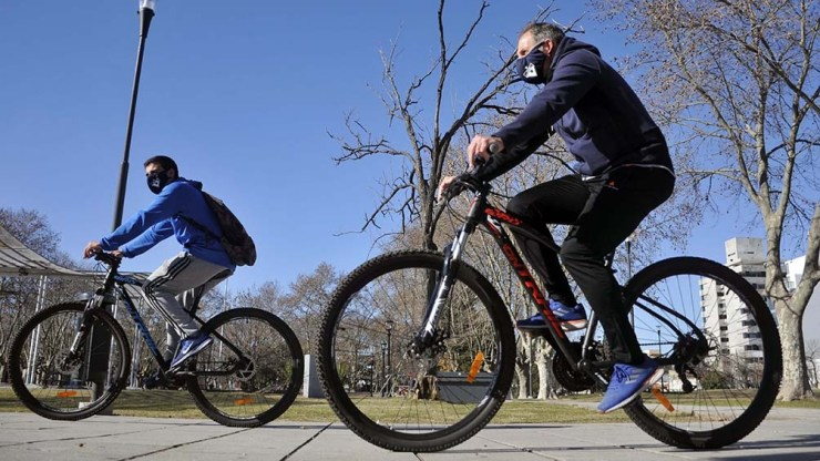 En 2020 viajaron en bicicleta 405.000 personas por día contra los 320.000 que lo hicieron en 2019.