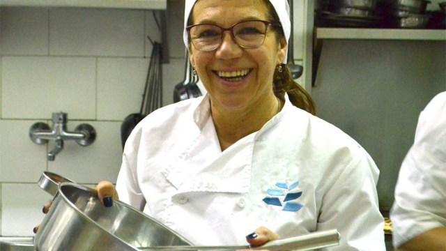 Nora Herzovich, impulsora de Sintaxis, el primer restaurante libre de gluten de la Argentina.