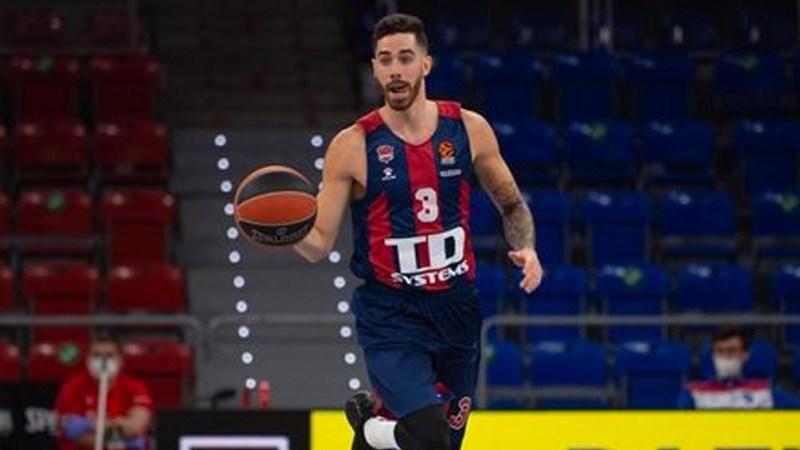 Vildoza, el tercer argentino que llega a la NBA de la temporada, junto con Campazzo y Deck (foto IG Luca Vildoza)