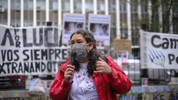 El caso de Lucía desató una serie de protestas contra el primer tribunal que juzgó a los acusados.