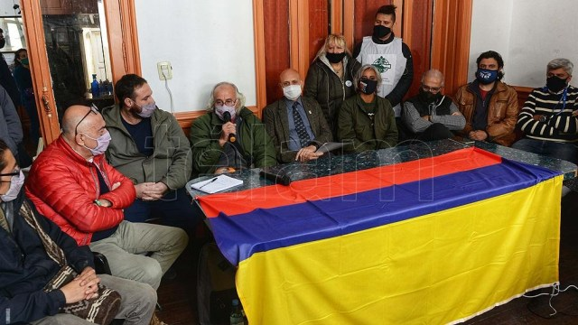 La delegación argentina que viajó a Colombia está integrada por 19 personas