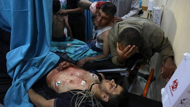 Entre los muertos está el comandante de las Brigadas Al Qasam, Muhamad Fayad.