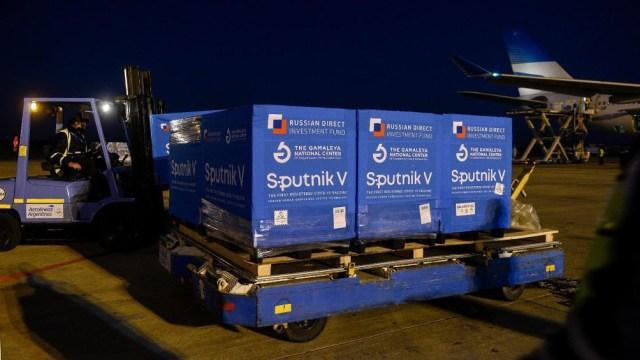 También para el lunes se espera otra carga de Sputnik proveniente de Moscú.