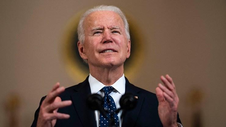 """Biden expresó que """"Todavía se están perdiendo demasiadas vidas""""."""