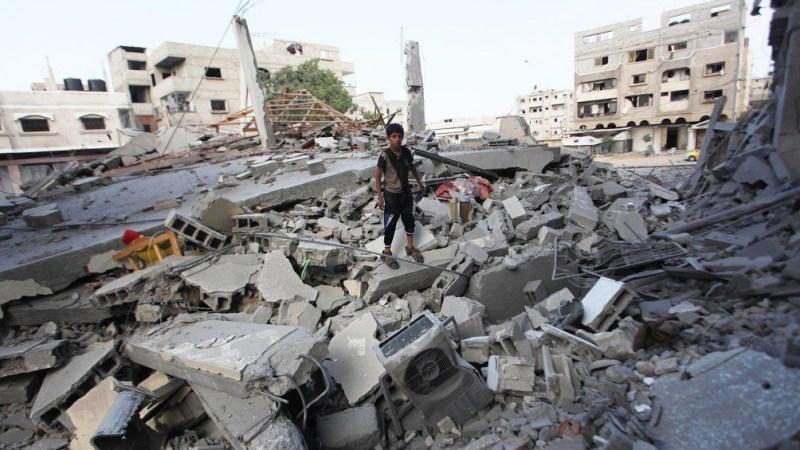 Unos 40.000 palestinos han abandonado sus hogares en Gaza.