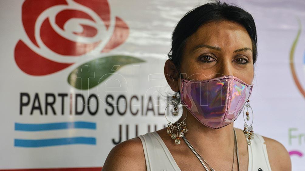 Pioneras de la inclusión política: hay siete candidatas trans. Lourdes Ibarra es candidata en primer término por el Partido Socialista en Palpalá