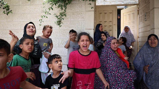 Blinken llega luego de 11 días de bombardeos que dejaron 243 muertos y de ataques con cohetes desde Gaza que causaron 12 muertos en Israel, además de cientos de heridos.