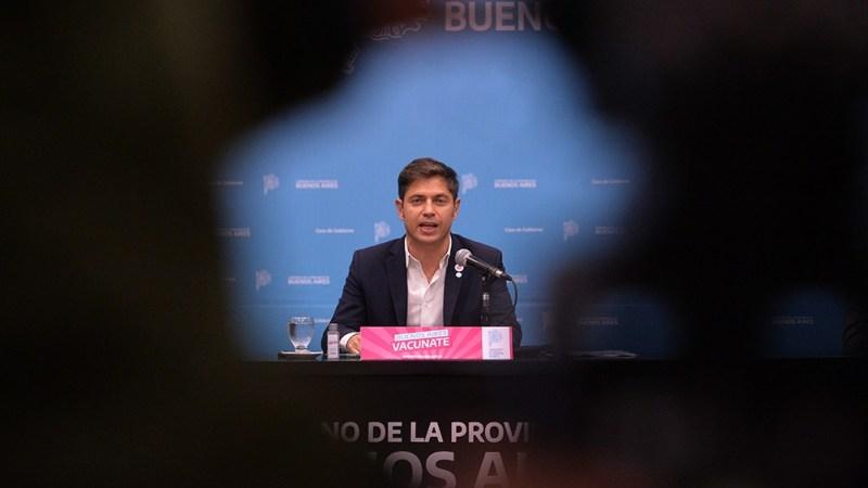 Gobernador bonaerense , Axel Kicillof