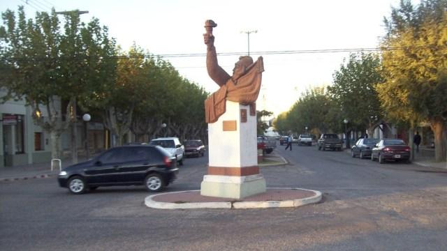 El monumento era parte de la cotidianeidad de Salliqueló y buena parte de sus habitantes desconocían su significado.