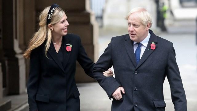 Se trata del primer casamiento en 199 años de un primer ministro del Reino Unido en funciones.