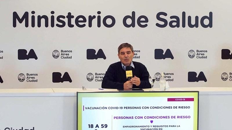 """Quirós: """"Las elecciones no generaron ningún impacto en los contagios""""."""