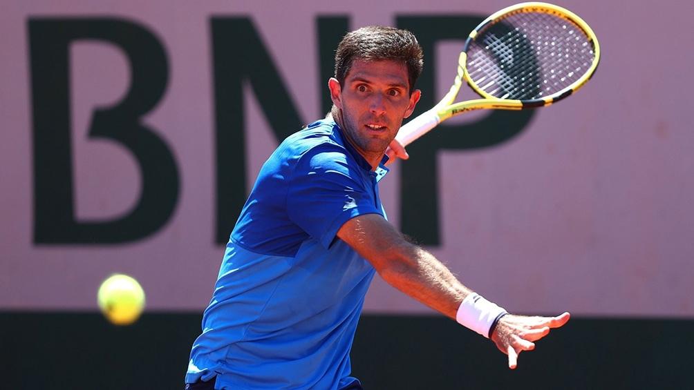 Federico Delbonis avanzó a la tercera ronda de Roland Garros por primera vez en su carrera.