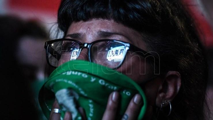 La violencia de la ilegalidad del aborto cerró con la ley un ciclo en el país. Foto: Eliana Obregón.