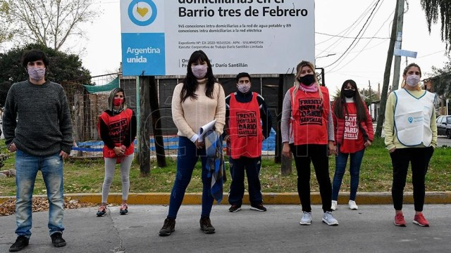 """La secretaria de Integración Socio Urbana del Ministerio de Desarrollo Social, Fernanda Miño, aseguró que """"la prioridad"""" de su gestión es que """"las obras salgan en tiempo y forma"""""""
