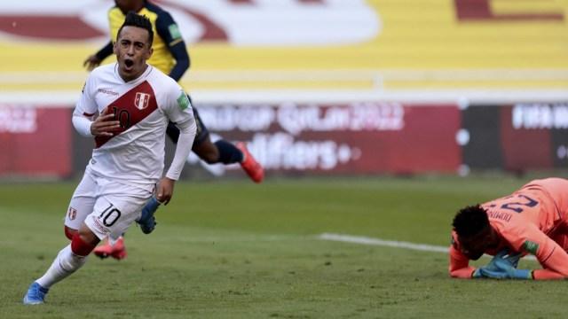 Cuevas, uno de los futbolistas que le dan desequilibrio al plantel peruano en la Copa América 2021