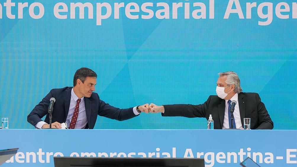 """""""Argentina y España tienen una oportunidad única para entenderse y poder avanzar""""."""
