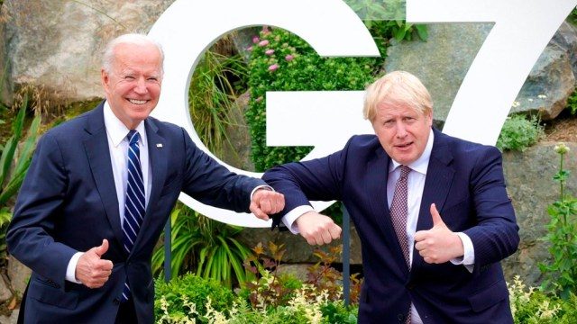 La cumbre fue en Reino Unido, antes del encuentro del G7.