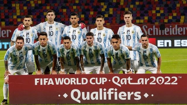 Argentina, segunda en Eliminatorias Sudamericanas, quiere volver a alzar un torneo continental que se le niega hace 28 años (foto archivo)
