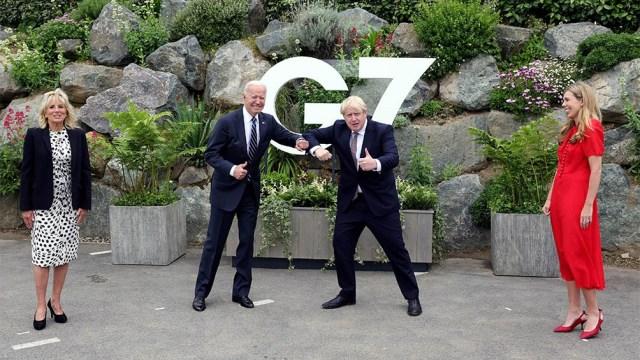 """Biden dijo que el G7 marca el """"regreso"""" de su país al multilateralismo, tras los años de Trump."""