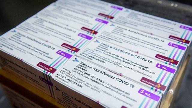 Unas 811.000 vacunas Astrazeneca llegarán esta noche al país.