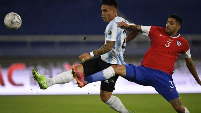 Argentina y Chile no salieron del empate en el debut por la Copa América