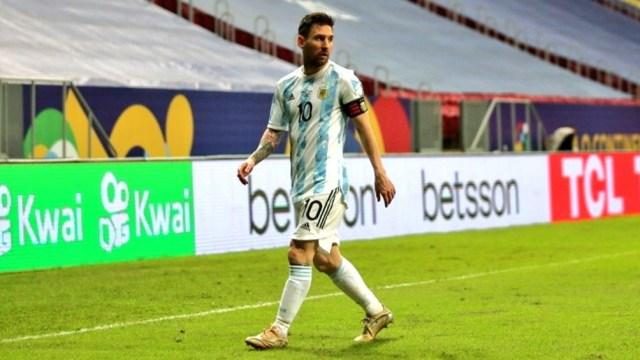 Messi, el único futbolista que anotó de tiro libre en lo que va de la Copa América Brasil 2021 (Foto: @CopaAmerica)