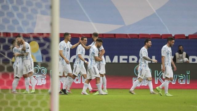 Argentina vs. Paraguay tuvo picos de más de 23 puntos.