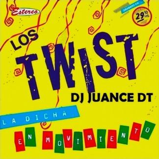 """""""La dicha en movimiento"""" (1983) de Los Twist. Fabiana grabó su voz por primera vez."""