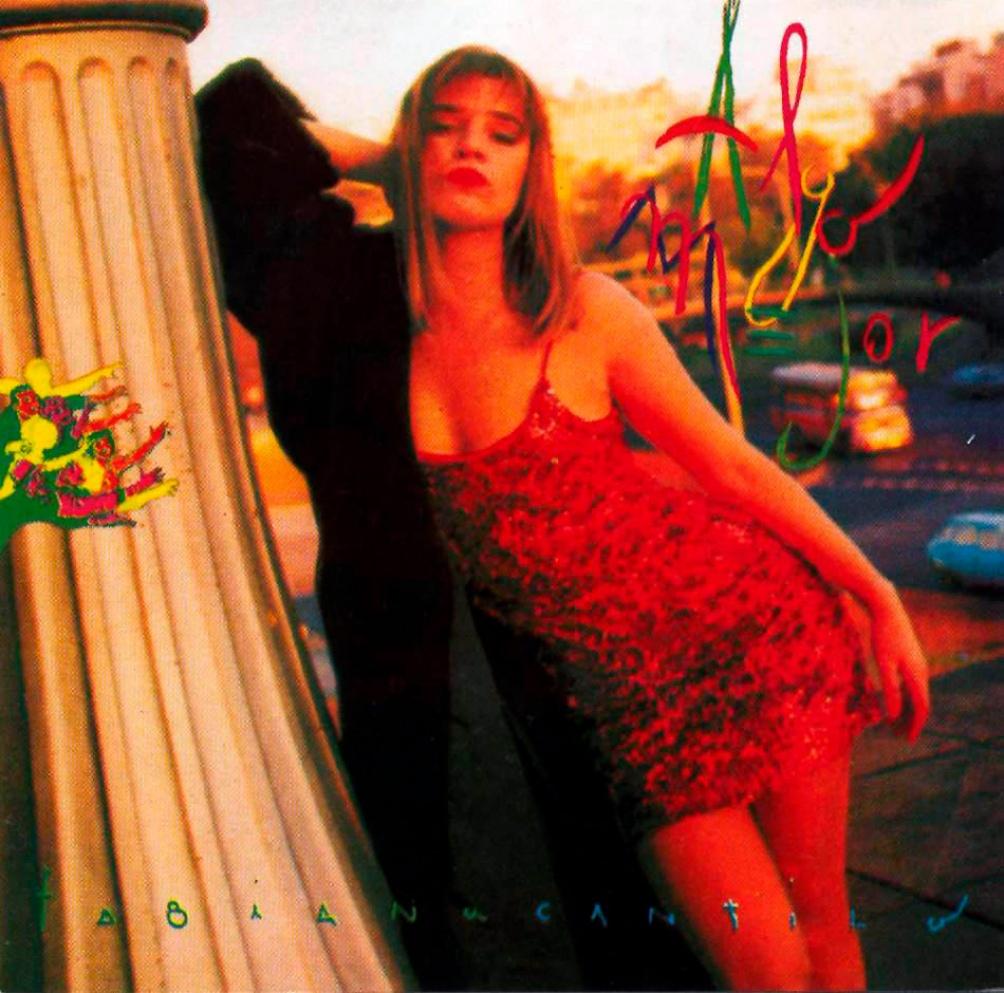 """""""Algo mejor"""" (1991): tercer disco solista de estudio de Fabiana Cantilo, con dos temas en coautoría y uno (Arcos) enteramente suyo."""