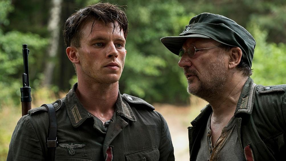 Niewhöner con Rainer Block, otra de las figuras de la miniserie.