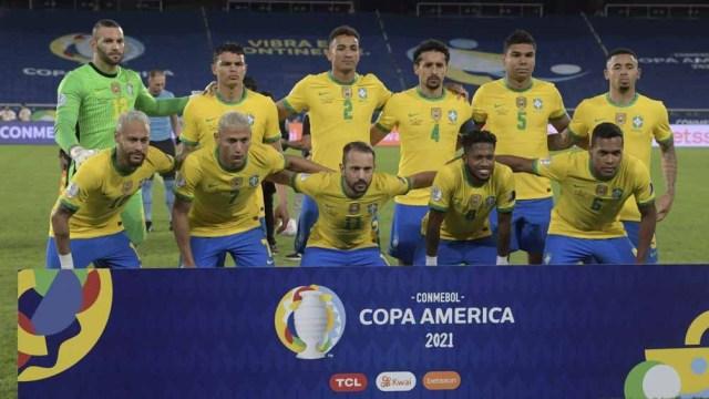 Brasil, líder, invicto y con puntaje ideal en la Copa que lo tiene como local (Foto: @CopaAmerica)