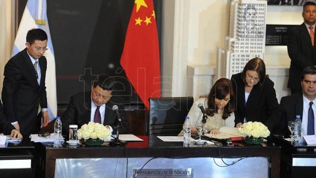 La Argentina se tomó casi 23 años para establecer relaciones diplomáticas con China.