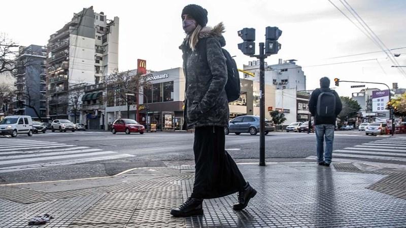 """En la Ciudad Autónoma de Buenos Aires se vivió un momento inédito. """"El domingo hubo una máxima de 8 grados y medio. Esa temperatura máxima fue la más baja desde julio del año 2013""""."""