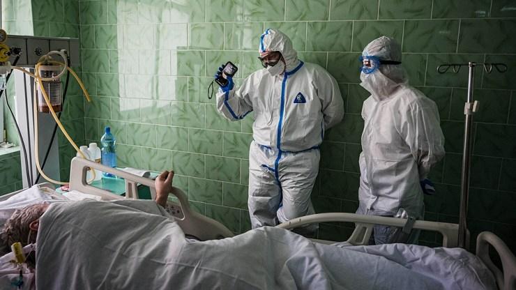 Rusia registró 25.142 nuevos casos de coronavirus en las últimas 24 horas