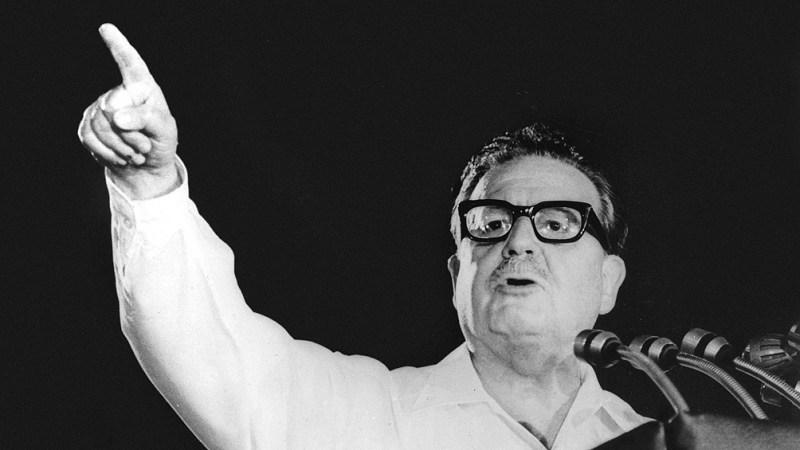 Salvador Allende. Foto: archivo.