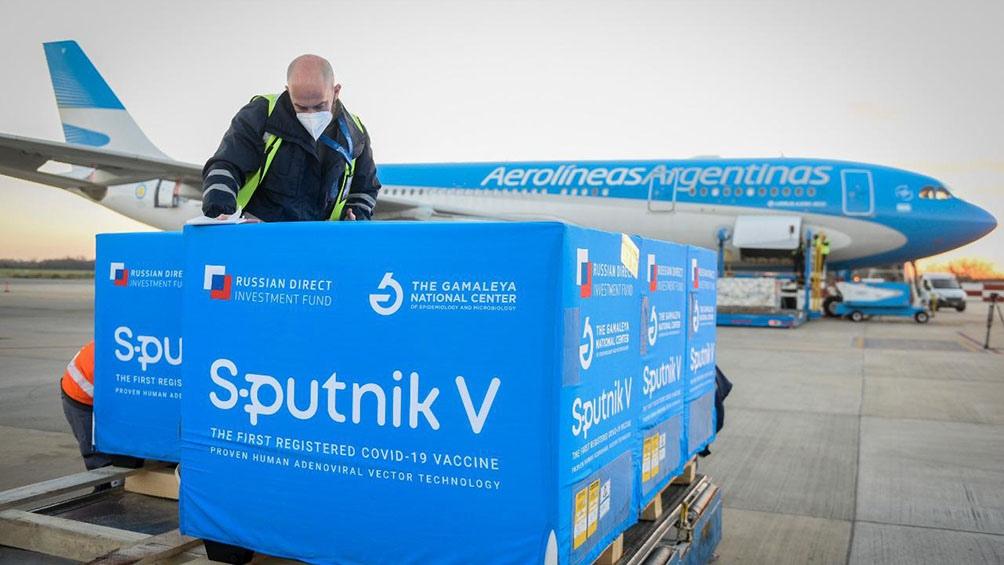 Uno de los cargamentos traerá dosis de Sputnik desde Moscú.