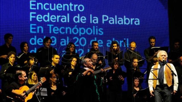 Las múltiples formas de la palabra recorrieron Tecnópolis en dos ediciones del Encuentro Federal de la Palabra. Foto: Florencia Downes