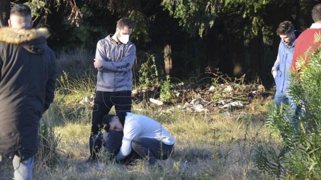 El cadáver fue trasladado a la Morgue Judicial para realizarle la autopsia para determinar la mecánica de la muerte. Foto: Saravia Hernán
