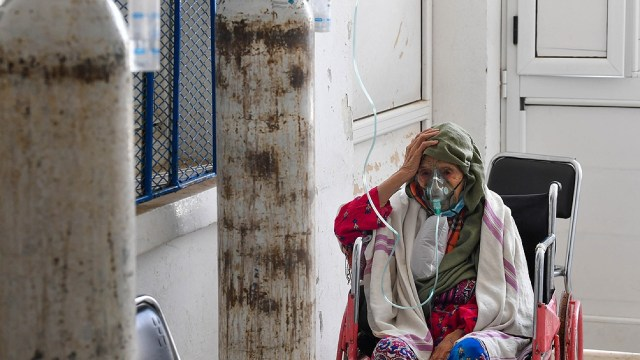 Sudáfrica, el país más afectado en la pandemia con más de 2,2 millones de casos y cerca de 65.000 muertes. Foto: AFP.