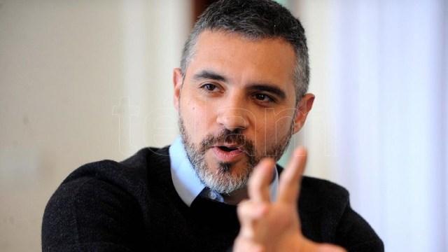 """Girard: """"La oposición tiene que decir qué es lo que quieren hacer con el FMI"""".(foto; Eva Cabrera)"""