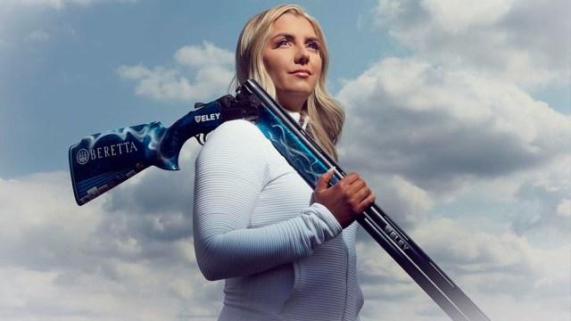 Hill, la tiradora británica, desvastada por su baja en los Juegos Olímpicos de Tokio 2020 (Foto: IG amberjohill)