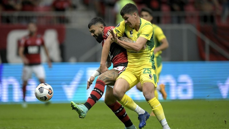 Flamengo no tuvo problemas para pasar a cuartos (Fofo: Conmebol).