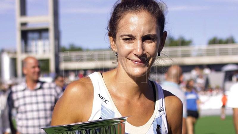 Luciana Aymar, ganadora de cuatro medallas en los Juegos Olímpicos. Foto: Diego Izquierdo.