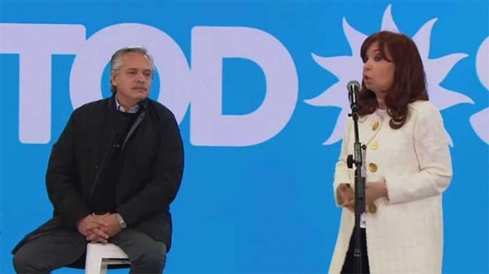 """""""Durante doce años y medio, después del desastre de 2001, Argentina creció en base a la producción y el trabajo"""", marcó la titular del Senado."""