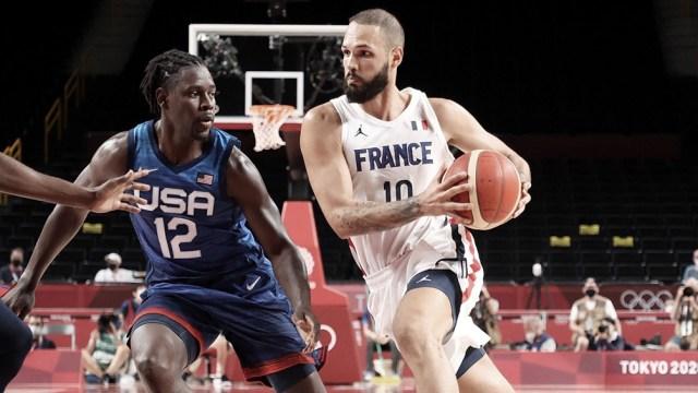 Francia puso de rodillas al Dream Team.