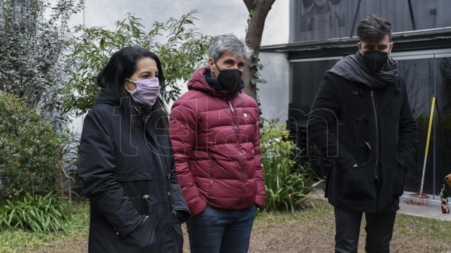 "Sofía ""Jujuy"" Giménez, Pablo Prada y Federico Hoppe (Foto: Eliana Obregón)"