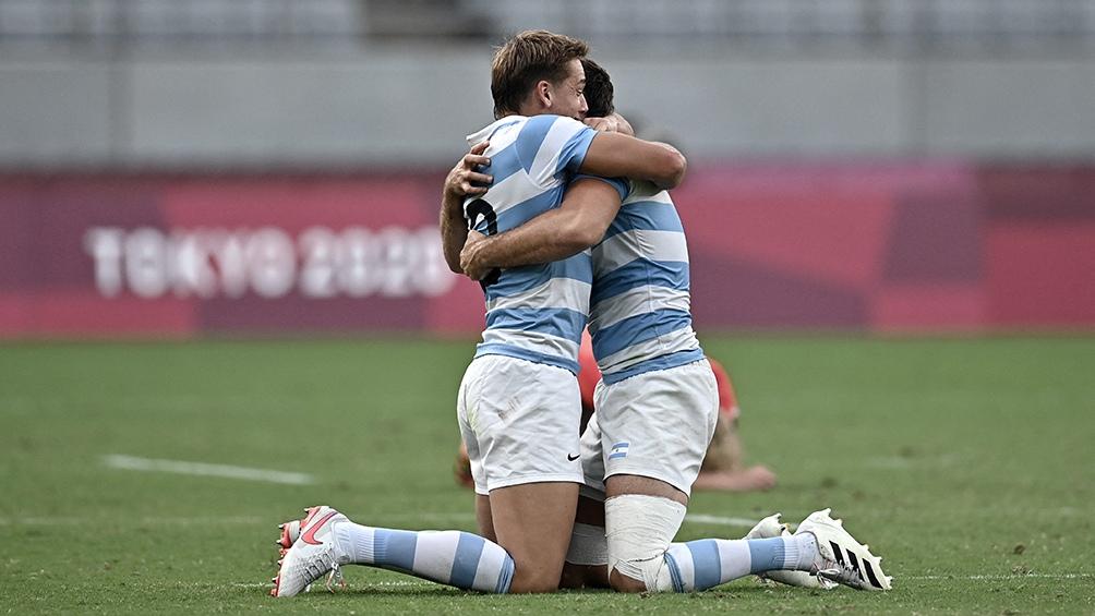 Lo conseguido por Los Pumas es histórico. (Foto: AFP)