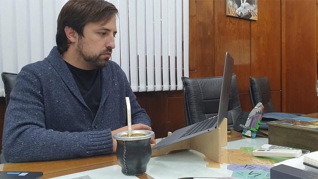 """Nicolás Kreplak destacó """"otra semana más"""" de caída sostenida de casos.. Foto Twitter."""